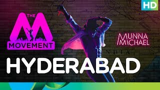 The M Movement | Tiger Shroff flags it off for Hyderabad!
