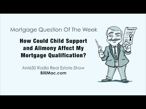 How Could Child Support and Alimony Affect My Mortgage Qualification?