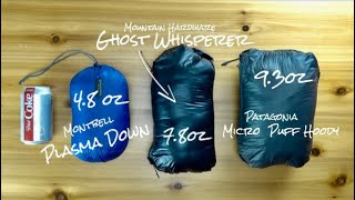 Download The world's lightest down jacket | Montbell Plasma 1000 Down Video