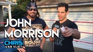 John Morrison: Ricochet made me cry, The Miz is in his wedding party, Lucha Season 4