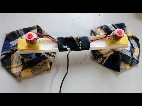 How to make a Remote Controlled Floor Cleaning Robot Easy Way