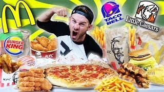 Download THE $50 FAST FOOD CHALLENGE! (9,000+ CALORIES) Video