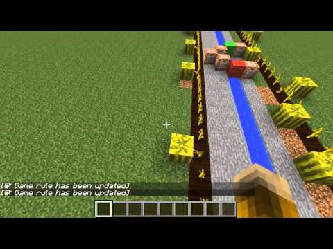 Minecraft Science! How to make melon farms grow faster!