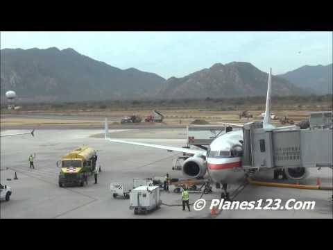 Plane Spotting @ SJD - Cabos San Lucas Mexico Part 1