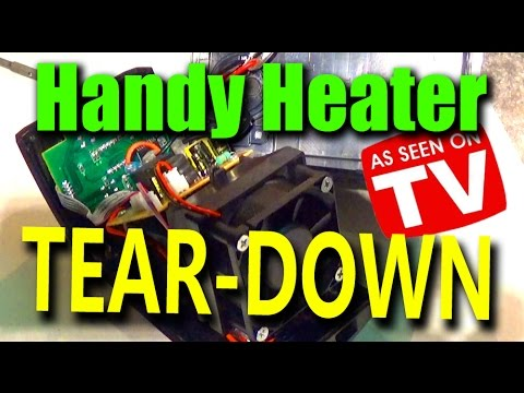 Handy Heater - Space Heater TEAR-DOWN
