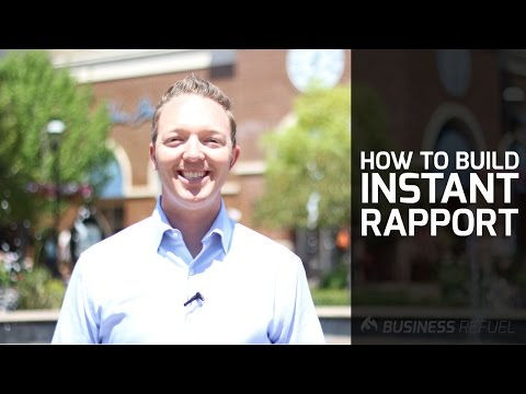 How to Build Instant Rapport with your Customers