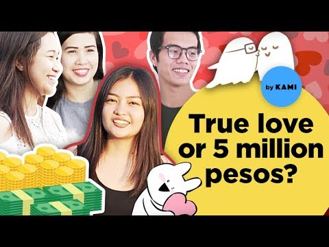 Would you rather find true love or 5 million pesos? ( Asking Filipinos tricky questions)| HumanMeter