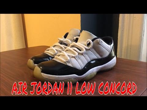 How to deep clean Air Jordan 11 Low Concord