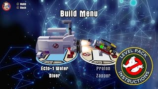 Lego Dimensions Ghostbusters Instructions All Six Builds