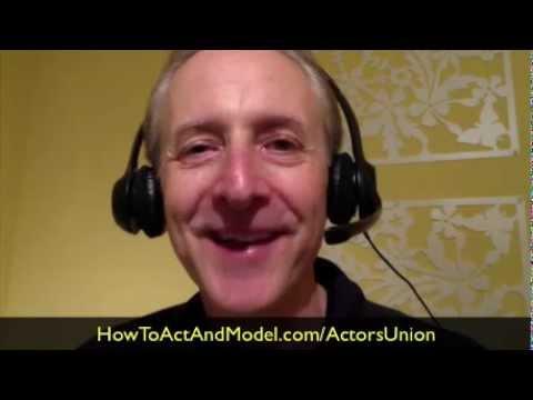 How To Prepare For Membership In SAG-AFTRA