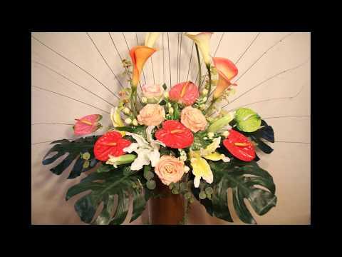 Amazing flowers large scale flower arrangement