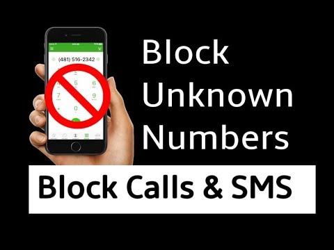 How to Block Unknown Calls & SMS Both in Android Smartphone - Hindi/Urdu