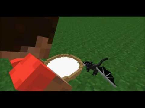 Minecraft Animation The Baby Ender Dragon