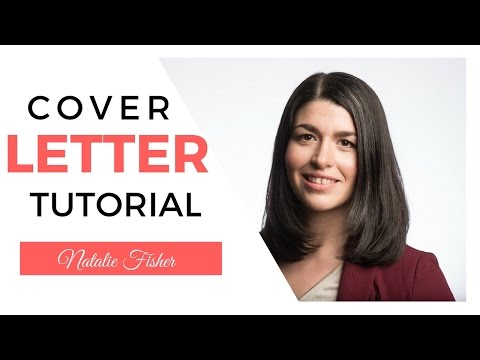 Cover letter tutorial WITH EXAMPLES!