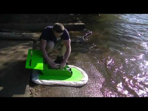 DIY / Home Built high performance RC Hovercraft, the inital version, testing, and results.