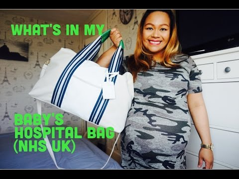 WHAT'S IN MY BABY'S HOSPITAL BAG |  UK 🇬🇧 (NHS)