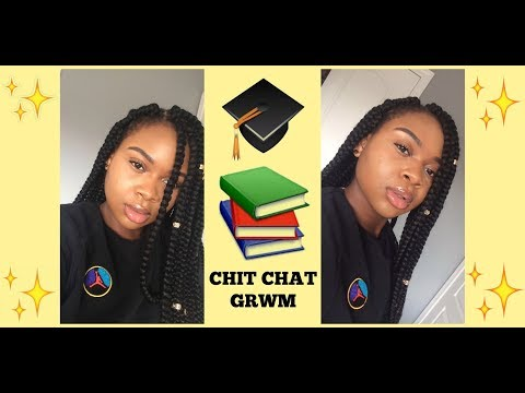 CHATTY GRWM: GRADUATING HIGHSCHOOL + GOING TO UNI AND COPING WITH DEATH