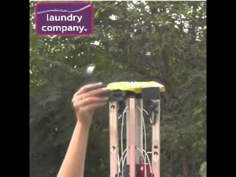 Vileda 50 m 4 Arm Viva Air Protect Rotary Dryer