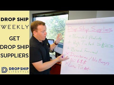 Get REAL Drop Ship Suppliers | Drop Ship Weekly 38