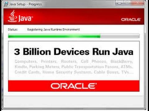 Install Java Development Kit (JDK) on Windows 7 /  Windows 8