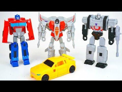 Transformers Bravo Wave 1 Authentics G1 Optimus Prime Megatron Starscream Bumblebee Collection