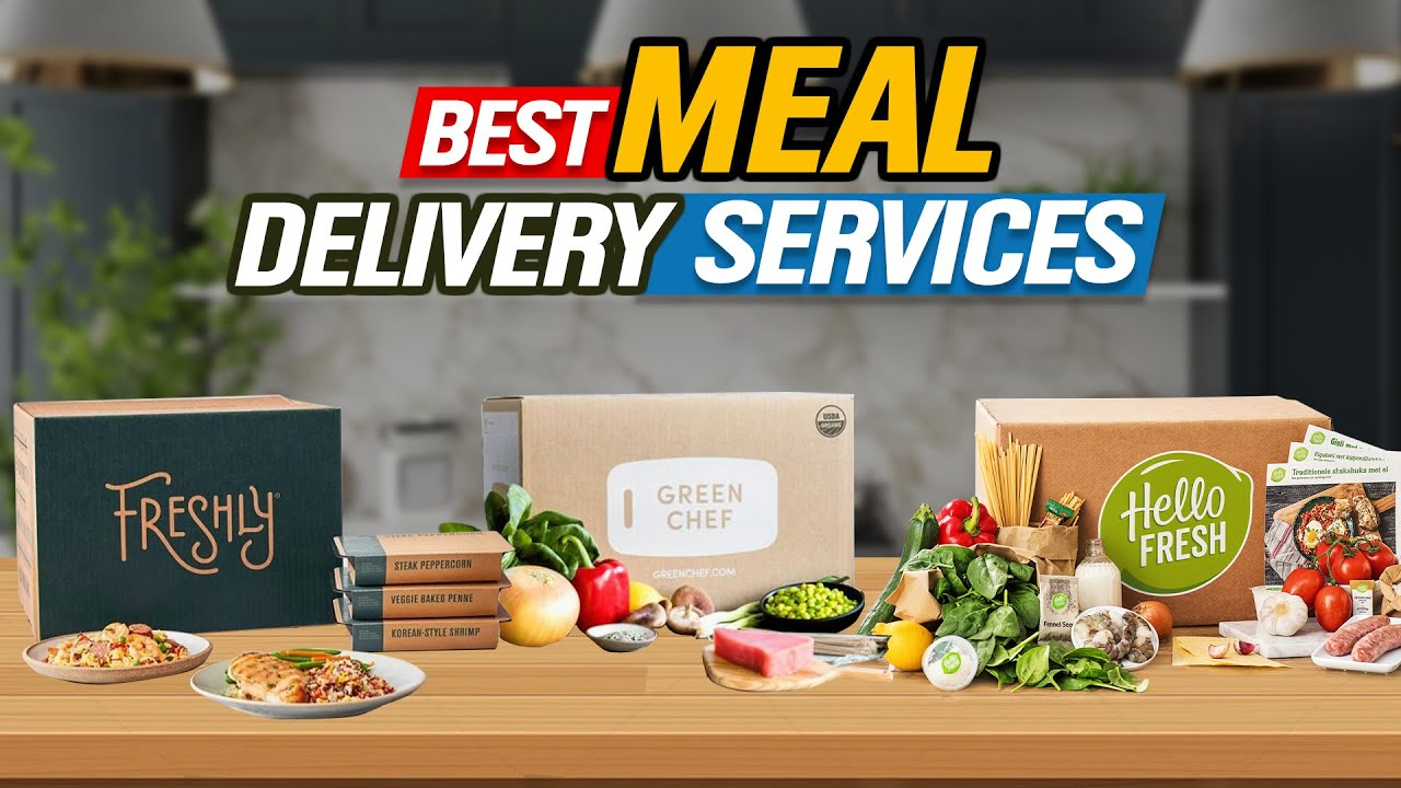 ✅ Best Meal Delivery Services 🍛 Top 10 Meal Kit Picks | 2021 Review