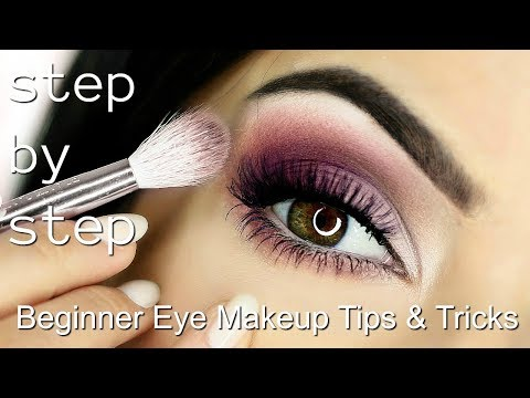 Beginner Eye Makeup Tips & Tricks | STEP BY STEP EYE MAKEUP ADDING COLOUR