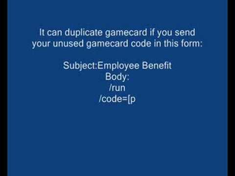 World of Warcraft Gamecard Duplicate