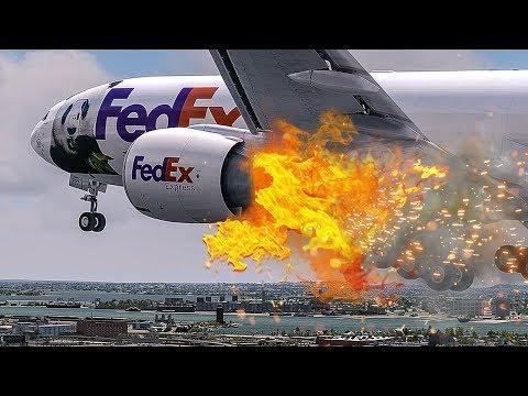 Engine On Fire   Emergency After Takeoff   New Flight Simulator 2018   4K