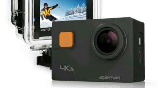 UNBOXING CAMARA GOPRO APEMAN A80 ACTION CAMERA - NIKO BELIK CHANEL