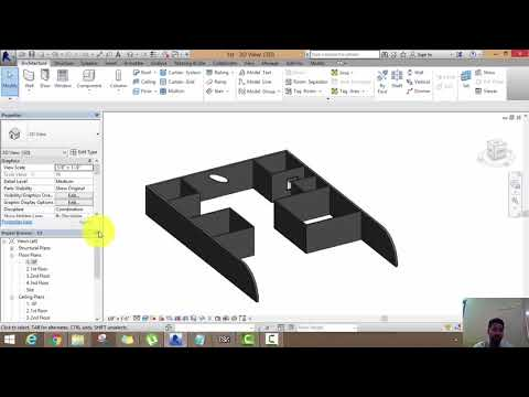 Revit Architecture Lecture 2(Modification of Wall,Door,Window)