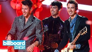 Jonas Brothers Light Up 2019 BBMAs With Dynamic Comeback Mashup | Billboard News