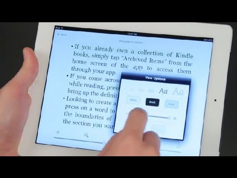 Highlighting in Different Colors in the Kindle App for the iPad : iPad Tips