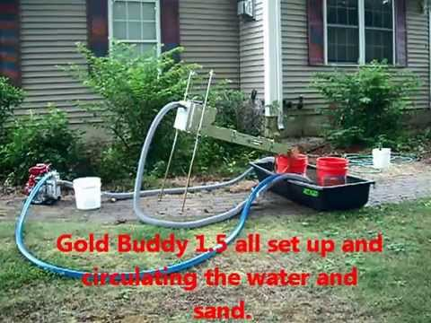 Gold Buddy 1.5 in. Suction Dredge 8-10-14