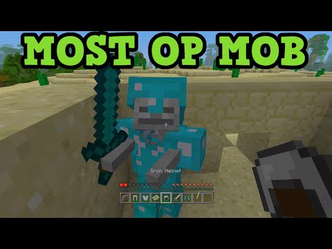 Minecraft Xbox 360 + PS3 SKELETON WITH DIAMOND ARMOUR IS OP