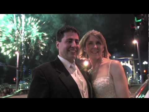 Fireworks at Our Reception near PNC Park - Michelle and ...