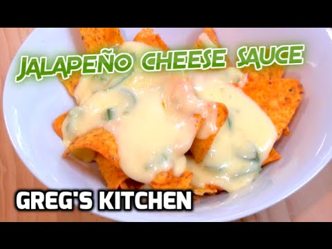HOW TO MAKE JALAPEÑO CHEESE DIPPING SAUCE - Greg's Kitchen