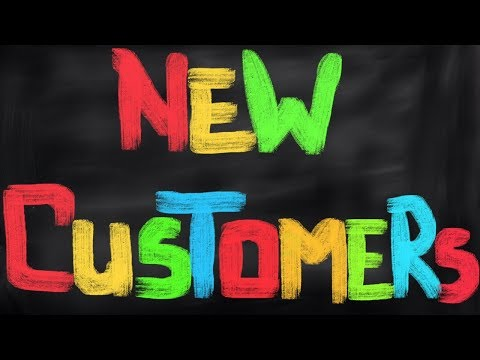 How to get NEW CUSTOMERS - New Clients - Hairstylist Tips - TheSalonGuy