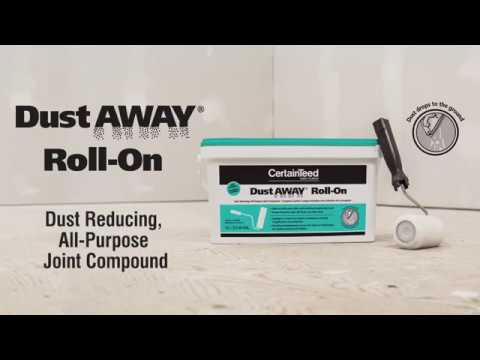 Dust Away® Roll-On Joint Compound Product Spotlight Video
