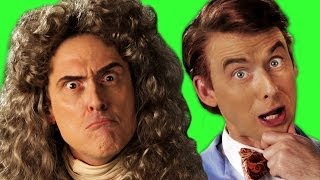Sir Isaac Newton vs Bill Nye. Behind The Scenes of Epic Rap Battles of History