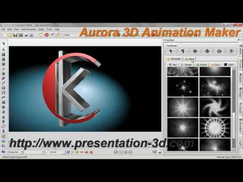 3D Animation Software | Text and Logo Animation Demo | Aurora3D Software