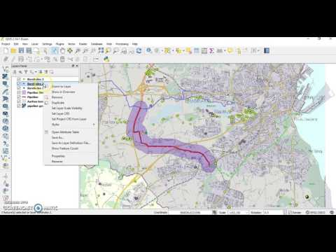 QGiS buffer zones and spatial queries