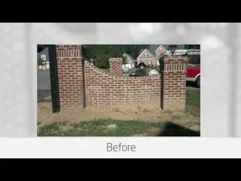 brick cleaning, mortar smears, Southern Maryland