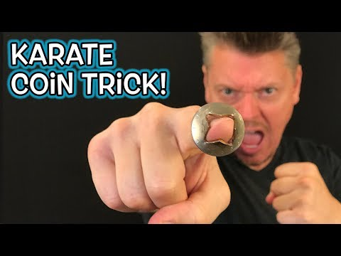 HOW TO Stick Finger THROUGH Coin! (Magic Prank REVEALED!)