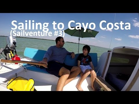 Sailing to Cayo Costa Island in Fort Myers Florida Sailventure #3
