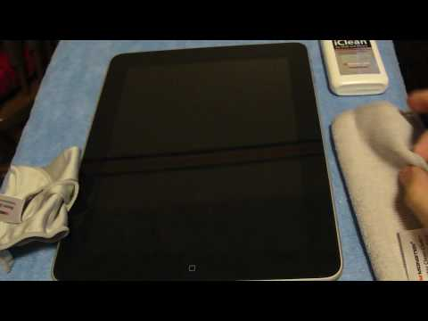 Monster iClean screen cleaner for iPad!