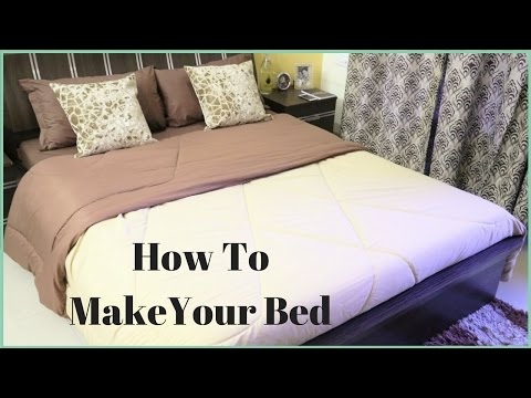 How To Make A Bed- How To Put A Bed Sheet On A Bed