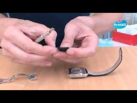 How to change a watch band or watch strap - Do it yourself DIY