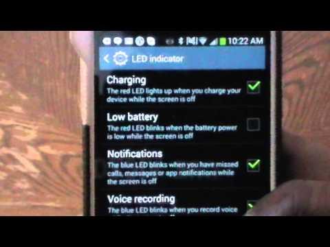 Enable LED Flash Light on Samsung Galaxy S4