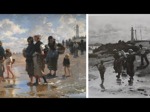 How Sargent Created Paintings Using Multiple Studies